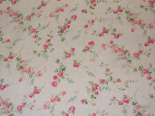 "LIBERTY ART Fabrics ""Elizabeth B"" per mezzo metro Floreale Tana Lawn Cotone Rosa"