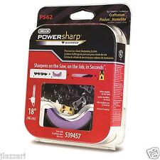 "Oregon Power Sharp Chain Sharpening System Chain and Sharpener Stone 18""  PS62"
