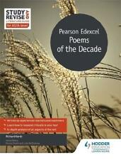Pearson Edexcel Poems of the Decade by Richard Vardy (author)