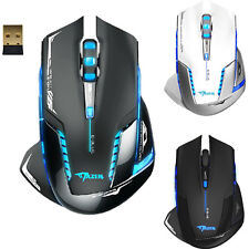 2.4GHz Wireless Gaming Mouse E-3lue 6D Mazer II 2500DPI Blue LED Optical Mouse T