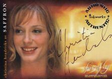 Firefly TV Series Christina Hendricks as Saffron A10 Auto Autograph Card