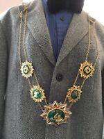 Libya Arab Jamahiriya Qaddafi Order of Revolution 40th Anniversary Collar Medal