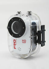 FRO Systems Pro HD 1080P Go Sports Action Camera - Helmet Cam, Waterproof, SALE