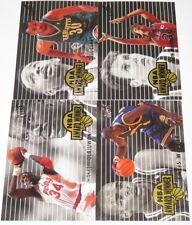 1994/95 Fleer Ultra NBA Award Winner Complete 4-Card Insert Set Hakeem Webber NM