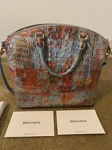 Brahmin Duxbury Melbourne Satchel Handbag Large