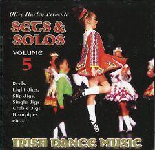 Olive Hurley  Sets & Solos Volume V - CD  Irish Dancing / Riverdance