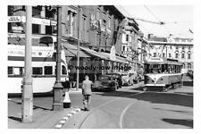 a0149 - Blackpool Tram no 175 in Clifton Street - photograph 6x4