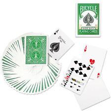 Bicycle Green Deck Playing Cards Poker Size Magic Tricks