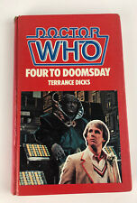 More details for doctor who four to doomsday 1st ed 1983 hardback wh allen