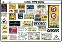 Verlinden Productions 1:35 Israeli Road and Traffic Signs  #27