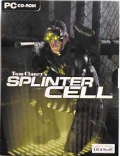 Gioco Pc Tom Clancy's Splinter Cell - Ed. digipack 3 dischi + CD Bonus Usato