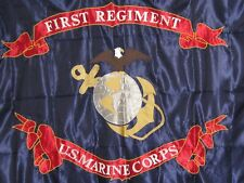 U.S.Marine Corps Reproduction First Regiment WW1 Flag