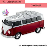 Portable Speakers Minibus MP3 Play USB Radio Subwoofer Speaker Creative Gifts
