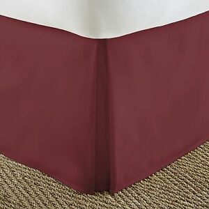 Premium Luxury - Bed Skirt - Dust Ruffle - The Hotel Collection by iEnjoy home