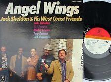 Jack Sheldon & West Coast Friends ORIG JAP LP Angel wings NM 1980 Atlas Jazz Bop