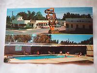 CLARK INN MOTEL FREMONT STREET Las Vegas NV UNPOSTED POSTCARD 1950'S mint