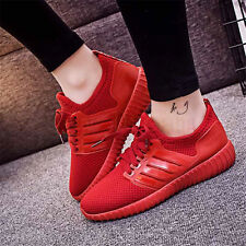 Womens Sport Casual Shoes Outdoor Athletic Sneakers Running Breathable Mesh Flat