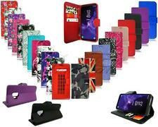 For Vodafone Smart X9 VFD 820 New Black Pink Leather Wallet Phone Case Cover