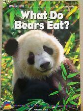 Teacher Big Book WHAT DO BEARS EAT? Kindergarten 1st  BENCHMARK SHARED READING