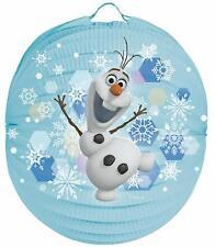 Frozen Olaf Laternenset Ballon-Laterne mit elektrischem Laternen-Stab ca. 49c...