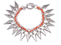 Punk Gothic Lots Style New Fashion Charm Leather Bracelet Bangle Cuff Jewelry