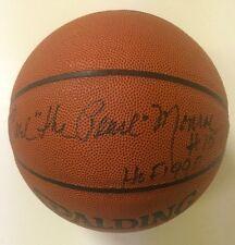 """Earl Monroe Signed NBA Basketball """"Earl The Pearl Monroe, HOF 1990  #15"""" JSA COA"""