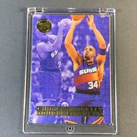 CHARLES BARKLEY 1995 FLEER ULTRA #1 DOUBLE TROUBLE GOLD FOIL INSERT CARD NBA HOF
