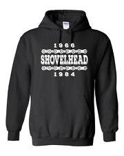 SHOVELHEAD YEARS Hoodie - S - 5XL - Harley Davidson Biker