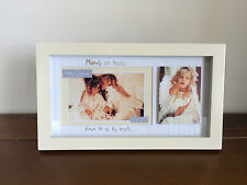 Mum Wooden Photo Frame Great Mummy/Mother Mothers Day Gift Mums are Kisses