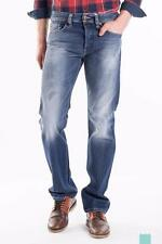 MENS DIESEL LARKEE-RELAXED WASH 008B9 Mens Comfort-Straight Jeans Denim W28 L32