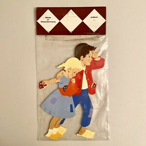 1970er Hellerkunst HELLER Märchen-Holzbild in OVP 29cm = Höhe mit Verpackung ALT