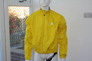 Mens original Adidas XXL Yellow Cycling Riding biking MTB 2XL Running