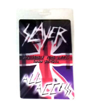 Authentic SLAYER 2006 Backstage Pass Death Trash Metal Music Memorabilia, RARE