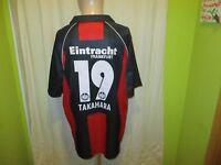 "Eintracht Frankfurt Jako Trikot 2006/07 ""FRAPORT"" + Nr.19 Takahara Gr.XL TOP"