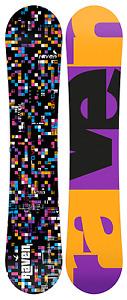 Raven Womens Snowboard Grid black 147 cm