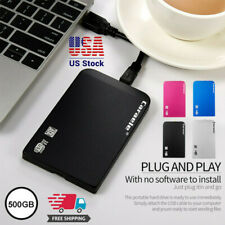 New H-6 HDD 500GB Metal Case USB 3.0 Laptop Mobile Hard Drive For Windows System