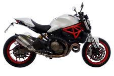 PER Ducati Monster 821 ABS 2016 16 MARMITTA TERMINALE DI SCARICO LEOVINCE IN ACC
