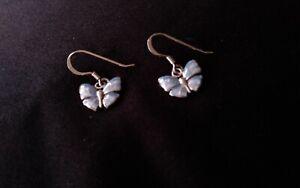 Nicole Barr sterling silver enamelled earrings