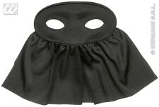 Black Veil Eyemask Eye Mask Widow Executioner Halloween Fancy Dress