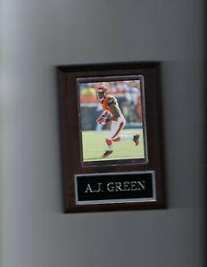A.J. GREEN PLAQUE CINCINNATI BENGALS FOOTBALL NFL
