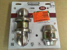 Universal Hardware Heavy Duty Commercial Entry Knob W/ Single Cylinder Deadbolt