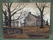 Stone Cottage Bricks Barn Farm Home Decor Canvas Billy Jacobs House Country