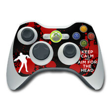 Xbox 360 Controller Skin - Keep Calm - Zombie - Vinyl Decal DecalGirl Sticker