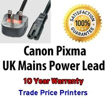 GENUINE UK Power Lead Cable Canon Pixma MP560 MP600 MP600R MP610 MP620 MP630
