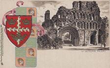 COLCHESTER (Essex): St Botolph's Priory  -embossed & u/ back-TUCK 'Heraldic'