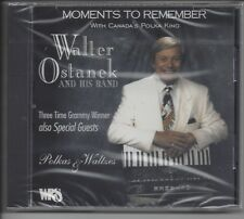 """WALTER OSTANEK  """"Moments To Remember""""  NEW SEALED POLKA CD"""