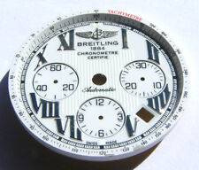 BREITLING CHRONOMAT B01 WEISSES ZIFFERBLATT WHITE DIAL ESFERA BLANCA I059