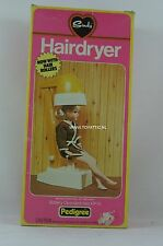 Sindy hairdryer by Pedigree furniture set NRFB and complete