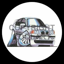 Koolart 4x4 4 x 4 Spare Wheel Graphic Bmw M3 Sticker 731