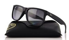 POLARIZED NEW Genuine RAY-BAN JUSTIN 55 Matte Black Sunglasses RB 4165 622/T3 MM